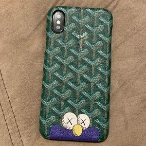 iPhone X & iPhone XS case Kaws GYD inspired -new